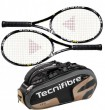 Tecnifibre Pack 2 T-Flash 315 + Thermo 12 raquettes