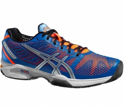 Asics Gel Solution Speed 2 Clay Bleu/Orange
