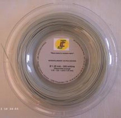 JC Cordage Copolyester Gris 12 m