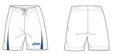 Short Asics Mc Kay Junior